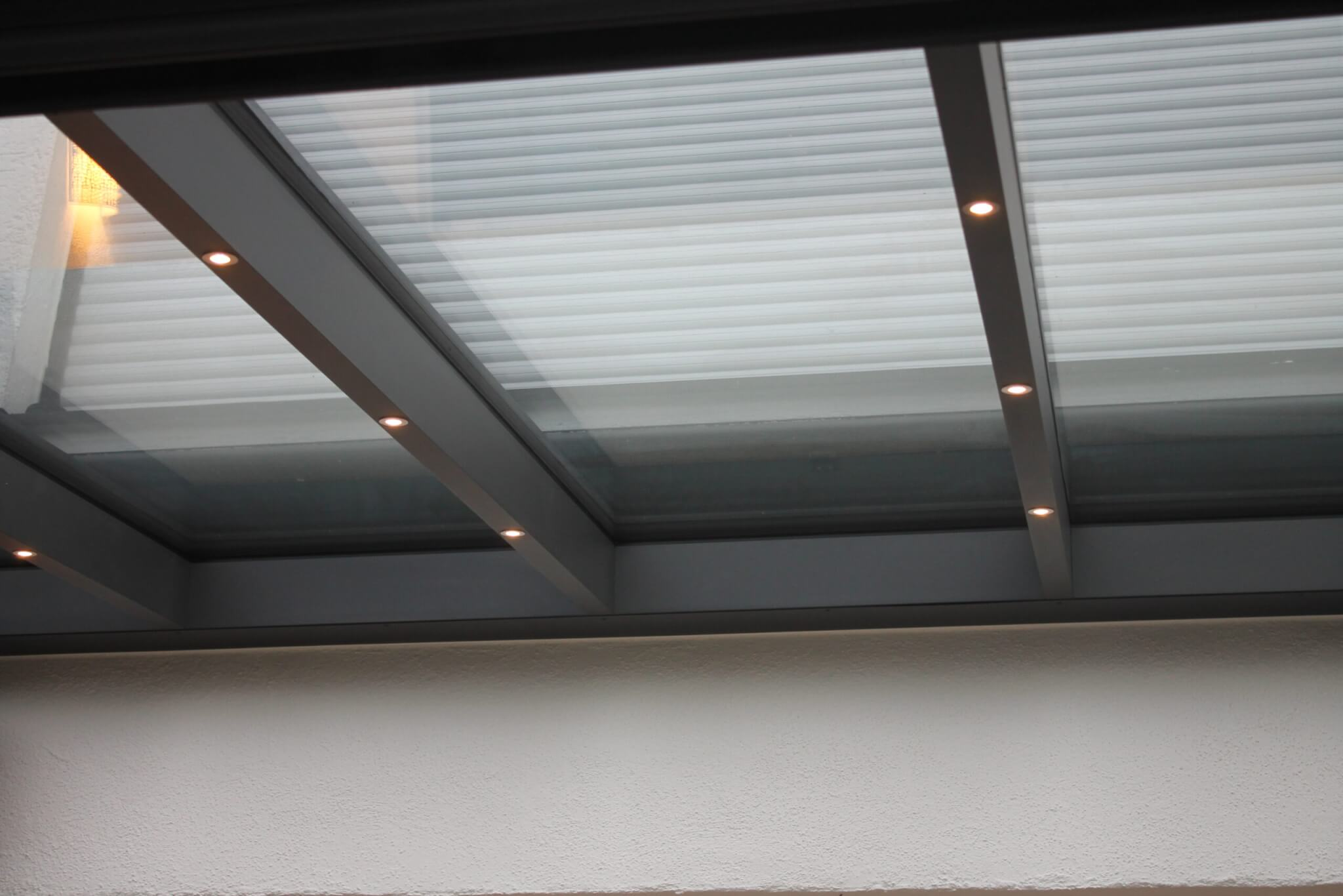 LED-Strahler Wintergarten