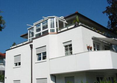 Wintergarten auf Balkon